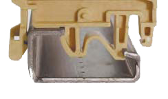 Złącza śrubowe przelotowe w izolacji poliamidowej   Seria CBD